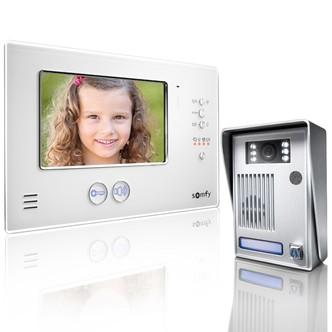 Видеодомофон V200 RTS Белый
