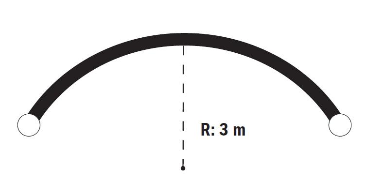 Минимальный радиус карниза при его изгибе и гнутии2