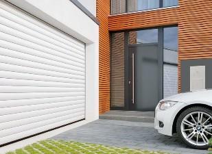 Рольставни-ворота для гаража и въезда